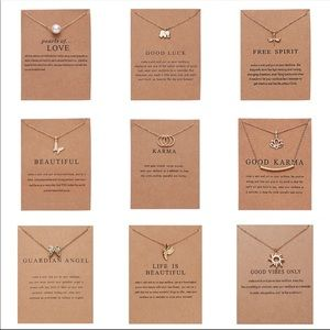 Jewelry - Make a wish necklace pendant jewelry gift fashion